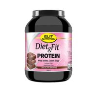 Diet & Fit Protein, 900 g, Strawberry Banana, Elit Nutrition