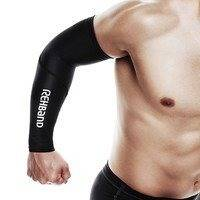 Compression Arm Sleeve, Black, S/M, Rehband