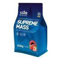 Supreme Mass, 750 g, Mansikka, Star Nutrition