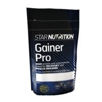 Gainer pro, 1,5 kg, Vanilja, Star Nutrition