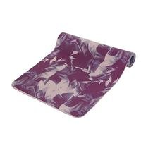 Casall Yoga Mat Motion Print 3mm, Plum Purple/Palm Print