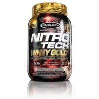 Nitro-Tech Whey Gold, 2,2 kg, French Vanilla Creme, MuscleTech