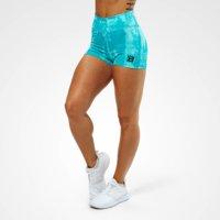 Gracie Hotpants, Aqua Print