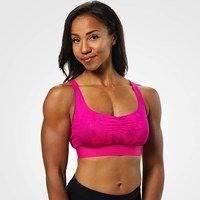 Fitness Short Top, Pink Print