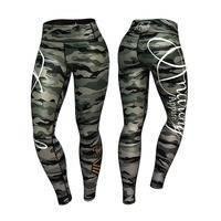 Commando Leggings, Green/Mixed, S, Anarchy