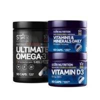 Terveysboosti - Paketti, Star Nutrition