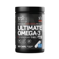 Ultimate Omega-3, 90 caps, 60% 1000mg, Star Nutrition