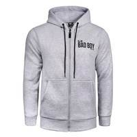 BAD BOY G.P.D. Crossover Hoodie, Grey