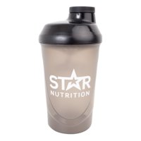 Star Nutrition Wave Shaker, Black, 600ml, Star Nutrition Gear