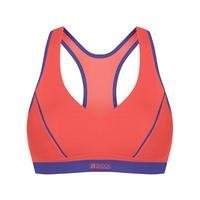 Active Sports Padded Bra, Coral Breeze