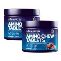2 x Amino Chew Tablets, Star Nutrition