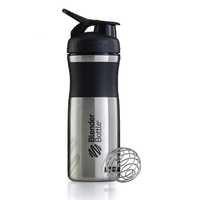 BlenderBottle® Stainless Sportmixer, 820ml, Black/Black, Blender Bottle