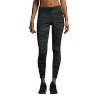 Casall Wave 7/8 Tights, Khaki Wave, Casall Sports Wear Women