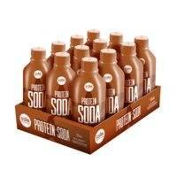 12 x Protein Soda, 375 ml, Cola, Lyhyt päiväys, Star Nutrition