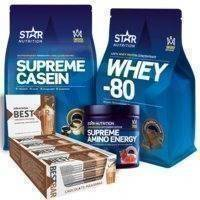 Vauhtia treeneihin -paketti, Star Nutrition