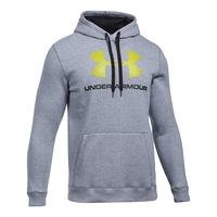 Rival Fitted Graphic Hoodie, True Gray Heather, L