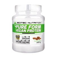 Pure Form Vegan Protein 450 g Hazelnut, Scitec Nutrition
