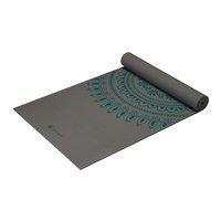 6mm Yoga Mat Teal Marrakesh Longer/Wider, Gaiam