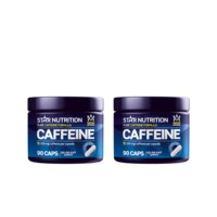 2 x Caffeine, 200mg, 90 caps, Star Nutrition