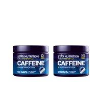2 x Caffeine, 200mg, 90 caps