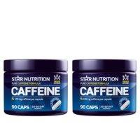 2 x Caffeine 100 mg, 90 caps, Star Nutrition