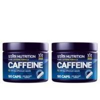 2 x Caffeine 100 mg, 90 caps