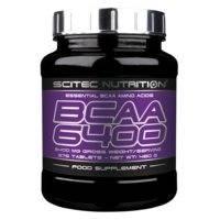 BCAA 6400, 375 tabs, Scitec Nutrition