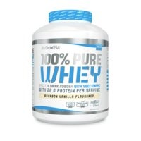 100% Pure Whey 454 g, Strawberry, Biotech USA