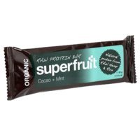 Raw Protein Bar Cacao+Mint, 50 g, Superfruit