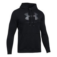 Rival Fitted Graphic Hoodie, Black