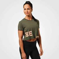 Astoria Cropped Tee, Wash Green, L, Better Bodies Women