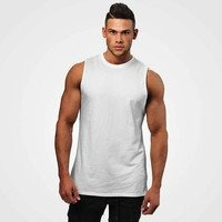 Bronx Tank, White, Better Bodies Men