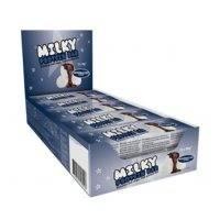 15 x Milky Protein Bar, 30 g, Marshmallow, Lyhyt päiväys, Star Nutrition
