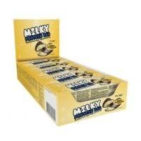 15 x Milky Protein bar, 30g, Banana Marshmallow, Lyhyt päiväys