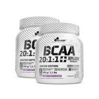 2 x BCAA Xplode 20:1:1, 500 g, Forrest Fruits Winter Edition, Olimp Sports Nutrition