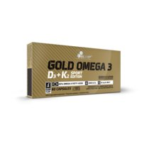 Gold Omega 3 D3+K2 Sport Edition, 60 caps, Olimp Sports Nutrition