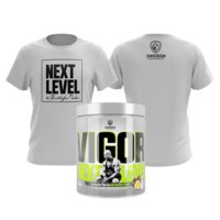 Vigor -Next Level, 500 g + T-shirt kaupan päälle, Swedish Supplements