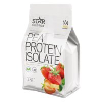 Pea Protein Isolate, 1 kg, Strawberry, Star Nutrition