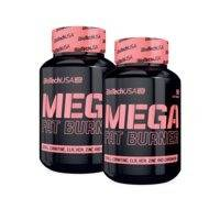 2 x Mega Fat Burner, 90 tabs, Biotech USA