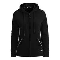 Deona Hooded Jacket, Black Beauty