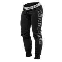 GG Slim Sweat Pants, Black, X-small, Better Bodies Women