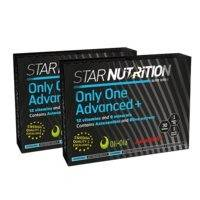 2 x Only One Advanced+, 30 tabs, Star Nutrition