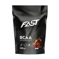 BCAA Powder, 500 g, Orange Mango, FAST Sports Nutrition
