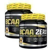 2 x BCAA Flash Zero, 360 g, Biotech USA