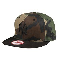 Camo Crown 950 New York Yankees, Camo/Black, S/M, New Era