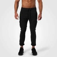 Harlem Cargo Pants, Wash Black, S, Better Bodies Men