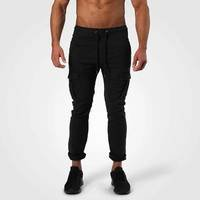Harlem Cargo Pants, Wash Black, XXL, Better Bodies Men