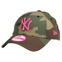 9Forty Fashion New York Yankees, Camo/Pink, OS, New Era