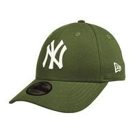 9Forty League Essential New York Yankees, Green/White, OS, New Era