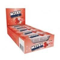 15 x Milky Protein bar 30g, Strawberry Marshmallow, Lyhyt päiväys
